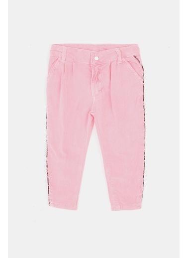 BG Baby Kız Bebek Kırmızı Pantolon Pembe